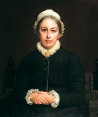 Painting of Emily Davies