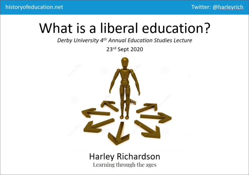 What is a liberal education?