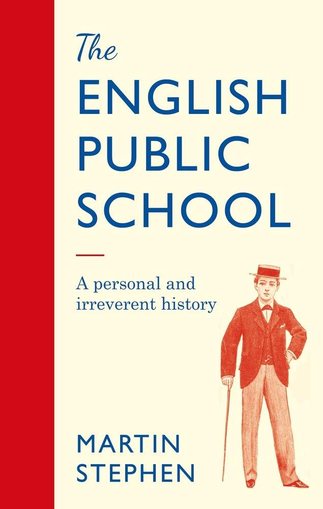 The cover of The English Public School showing a public school boy in uniform.