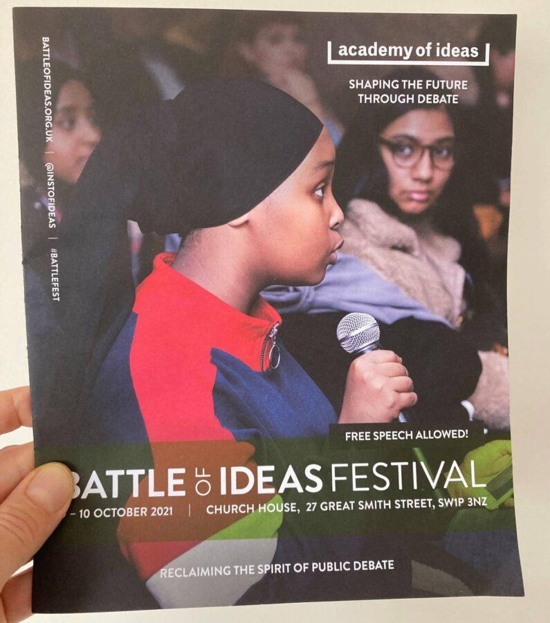 Reimagining schools at the Battle of Ideas